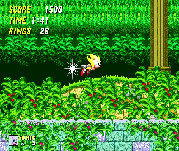 Sonic 2 Super Sonic