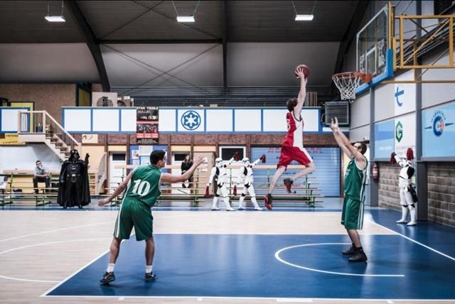time de basquete