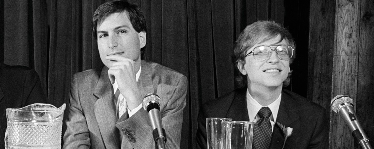 d7a8c41ffea Imagem de: Bill Gates e Steve Jobs: 10 anos depois, quem substituiria os