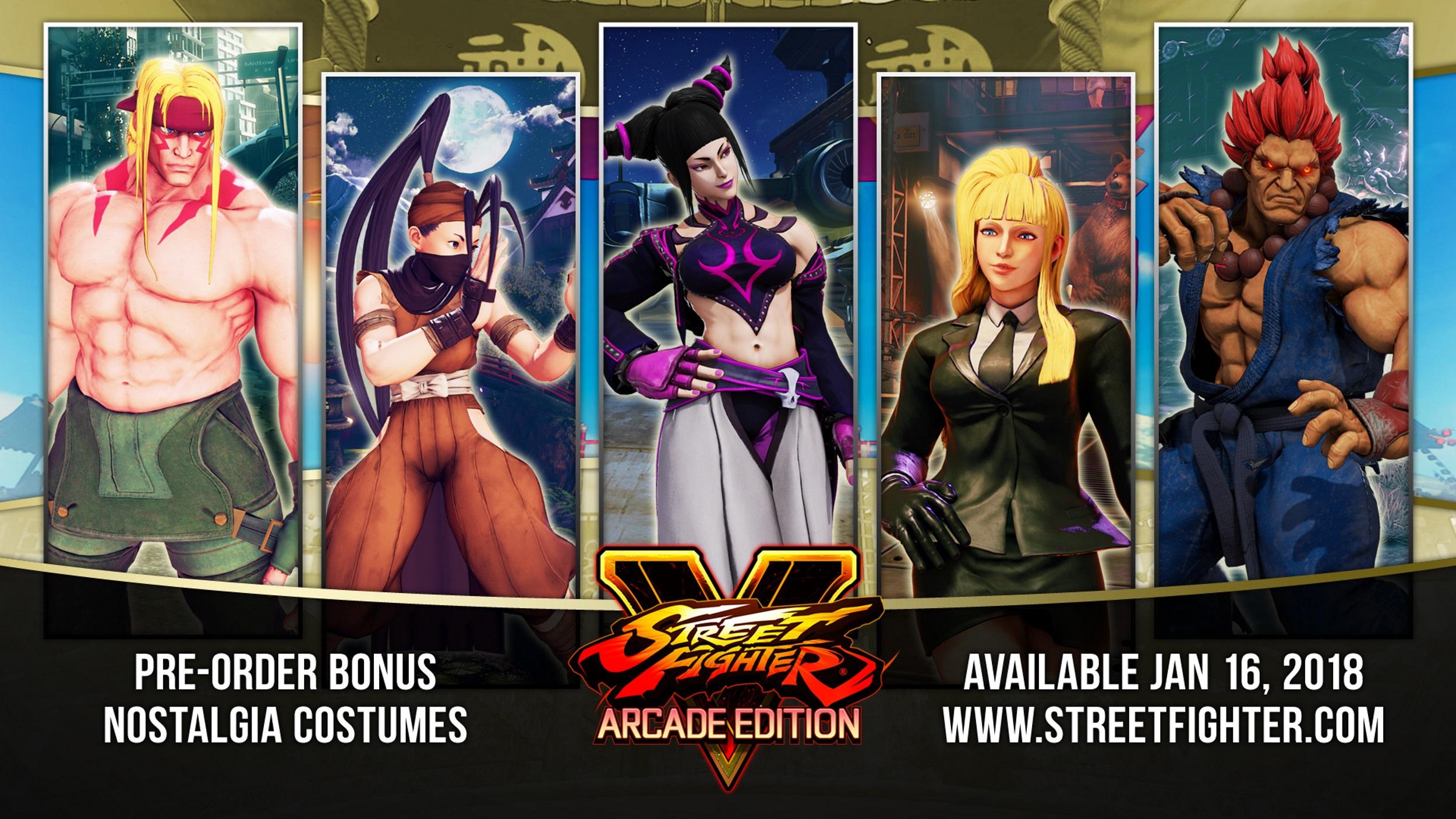 Sakura, Sagat e Blanka voltam na terceira temporada de Street Fighter V