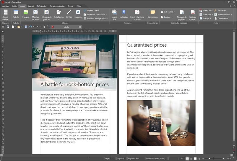 Ashampoo Office 2018 - Imagem 1 do software