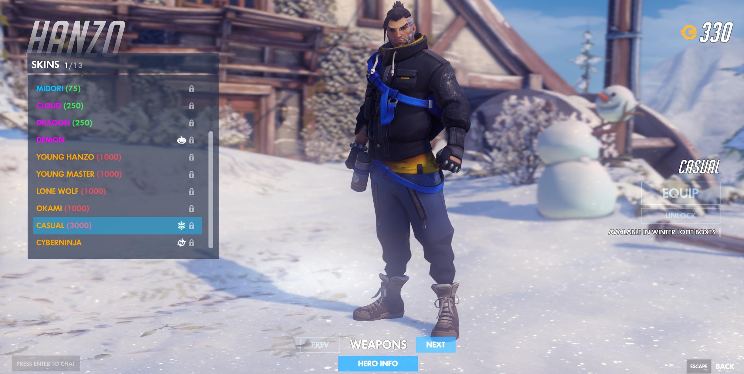 Paraíso Congelado traz novas skins e melhorias para Overwatch