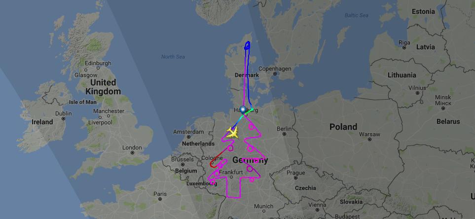 Teste com Airbus 380
