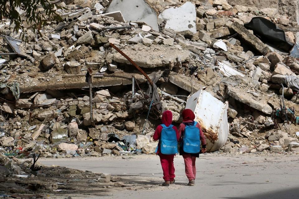 Garotas sírias