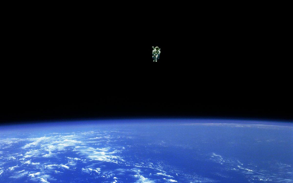 Astronauta Bruce McCandless II