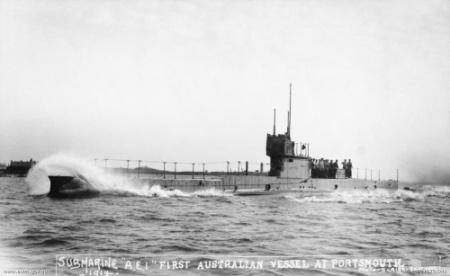 Submarino HMAS AE1