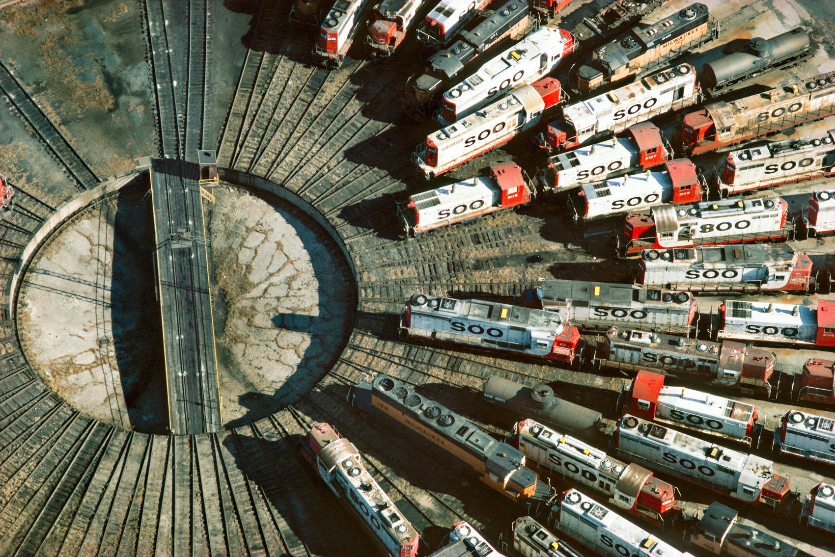 Muitos trens