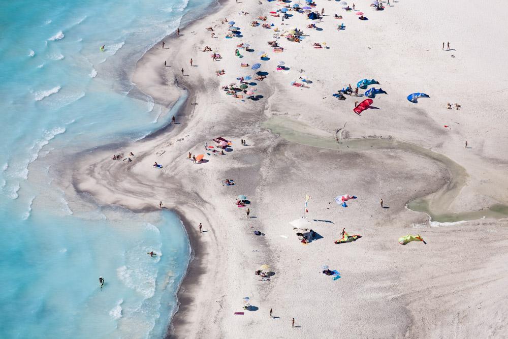 Praia na Itália