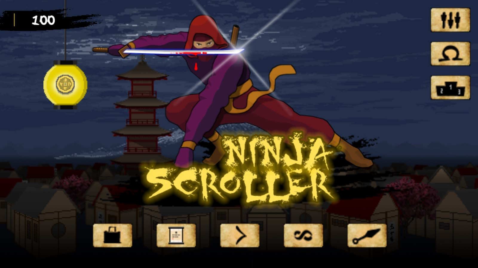 Ninja Scroller: The Awakening - Imagem 1 do software