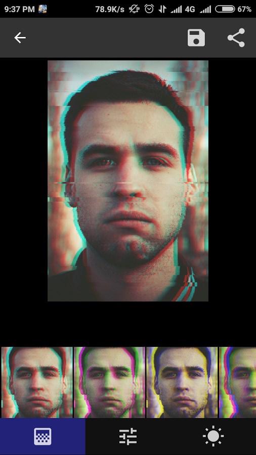 Onetap Glitch - Photo Editor - Imagem 2 do software