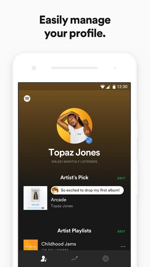 Spotify for Artists - Imagem 1 do software