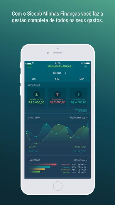 Sicoob Minhas Finanças - Imagem 1 do software