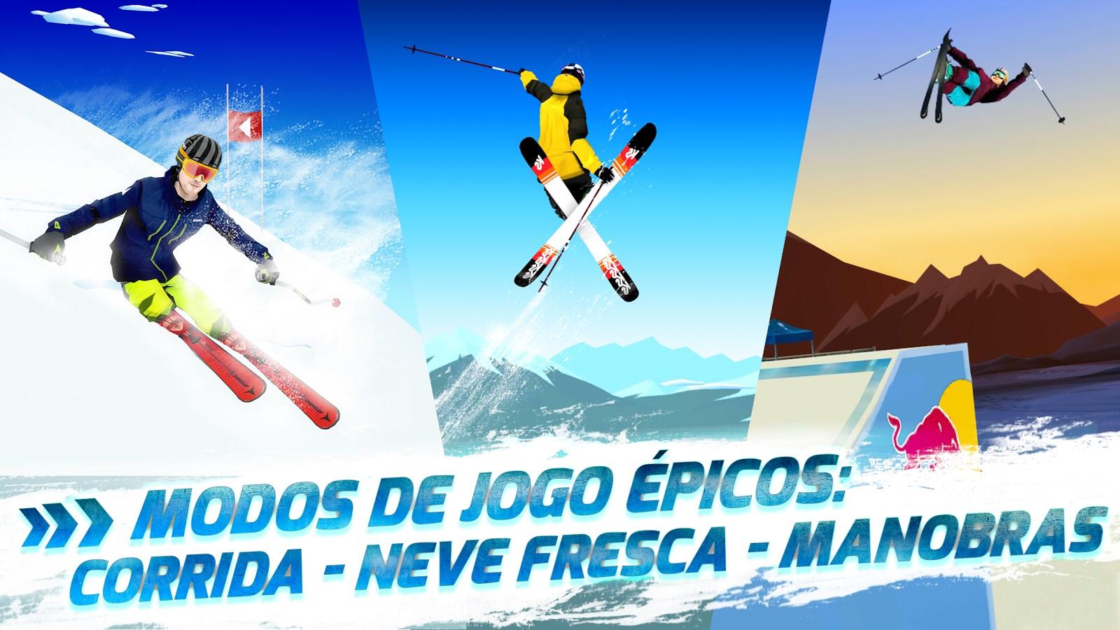 Red Bull Free Skiing - Imagem 1 do software