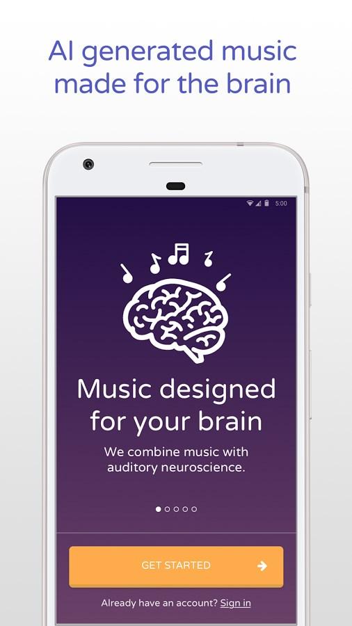 Brain.fm - Imagem 1 do software