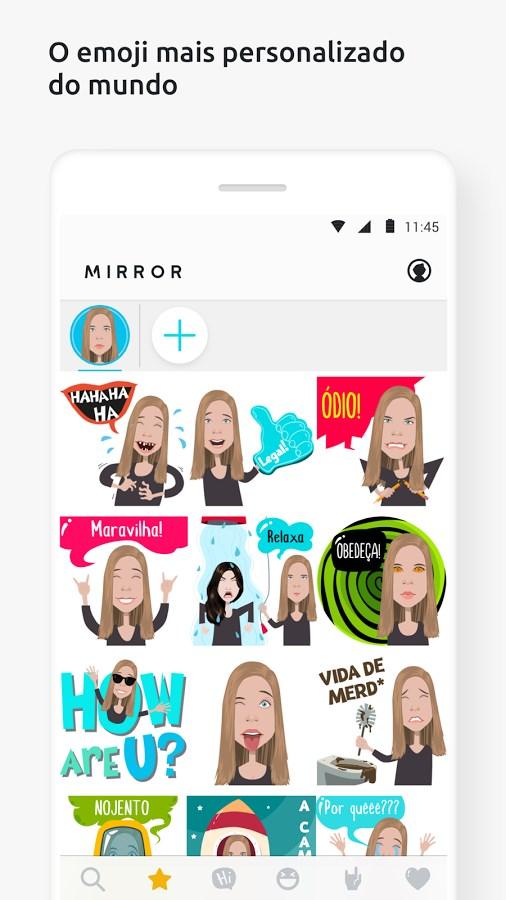 Mirror, o teclado de emojis - Imagem 2 do software