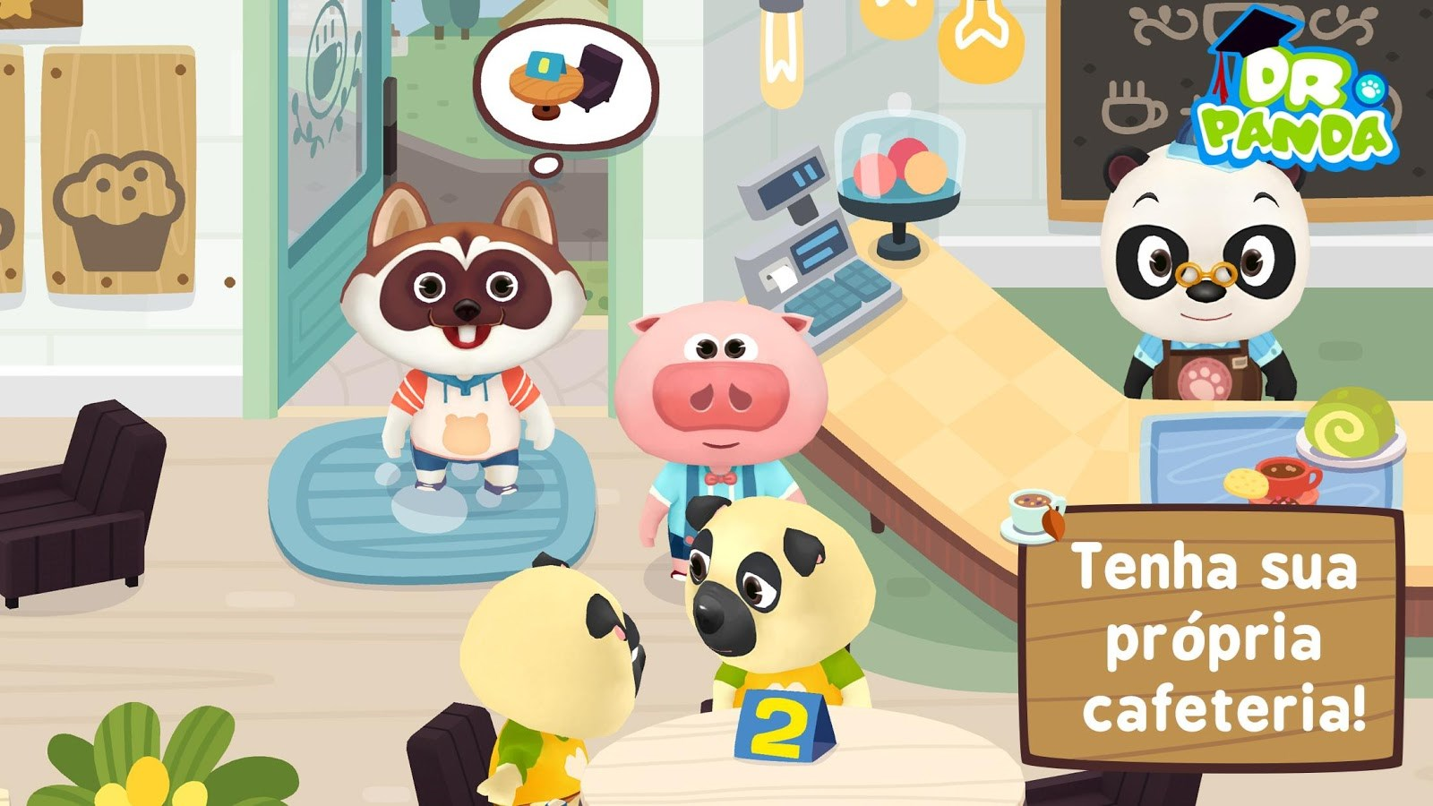 Dr. Panda Café Freemium - Imagem 1 do software