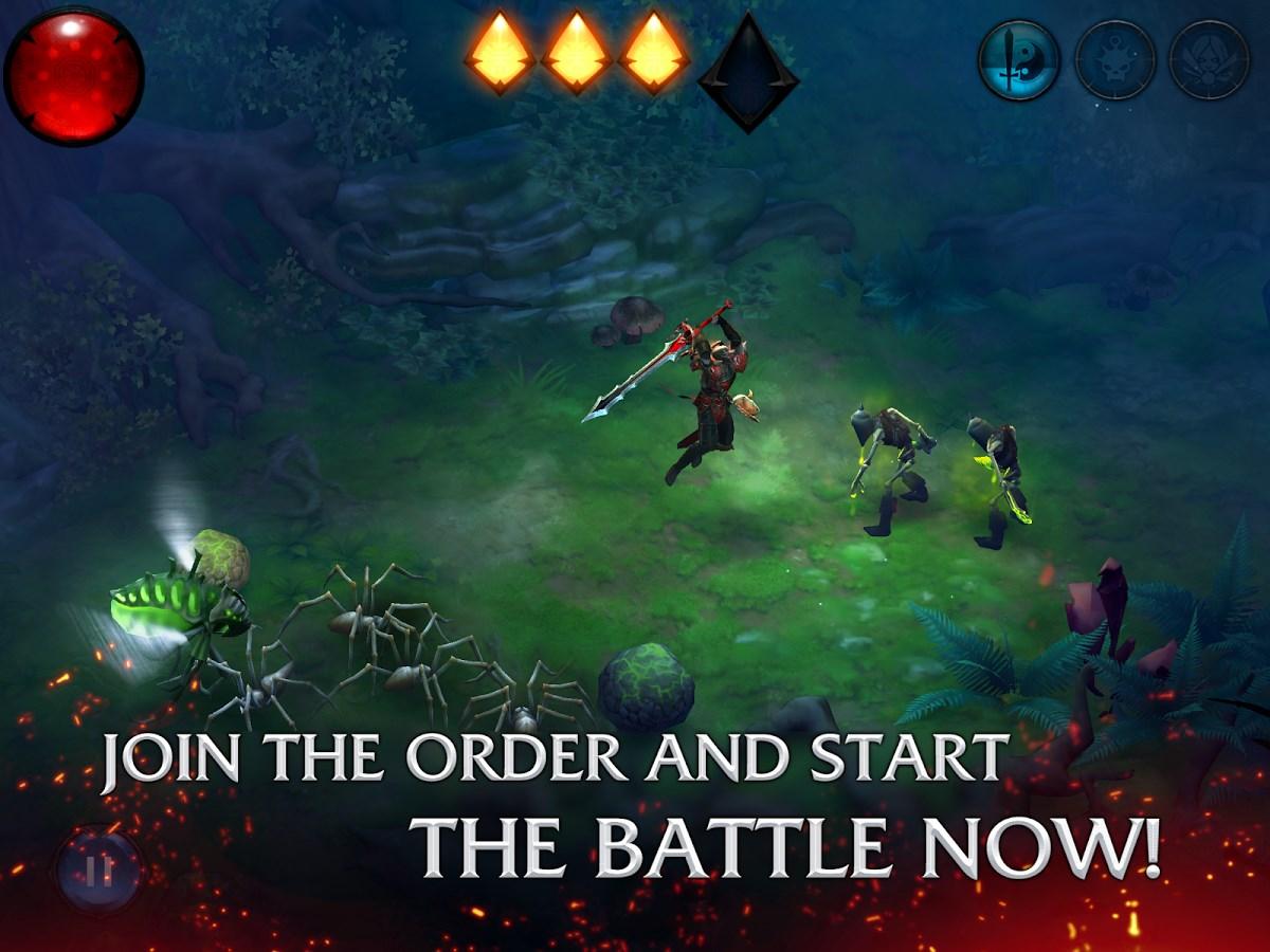 Bladebound: hack and slash RPG - Imagem 1 do software
