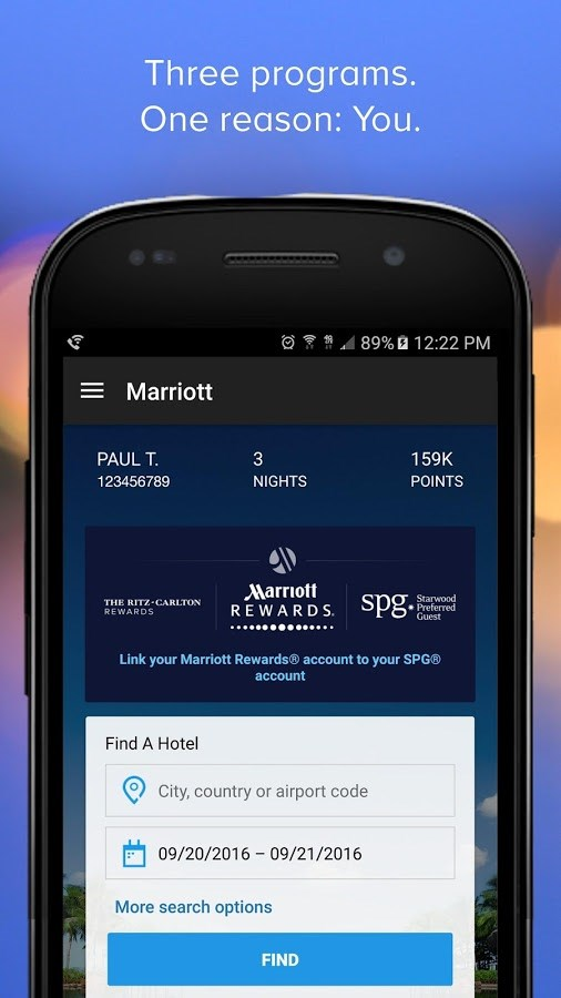Marriott International - Imagem 2 do software