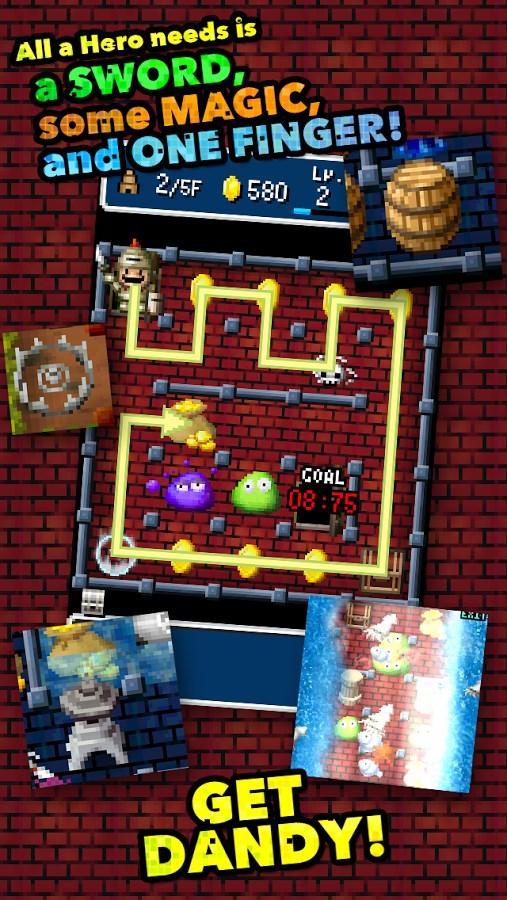 Dandy Dungeon - Imagem 2 do software