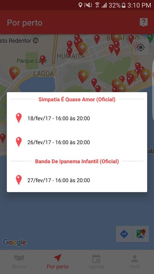 CarnaBlocos Rio 2018 - Imagem 2 do software