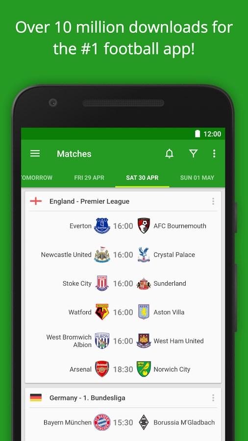 Football Scores - FotMob - Imagem 1 do software