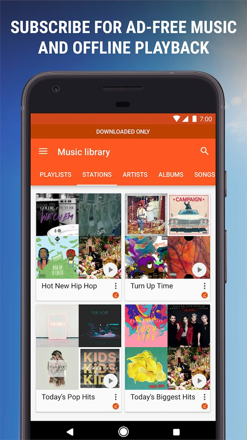 how to download my music from google play