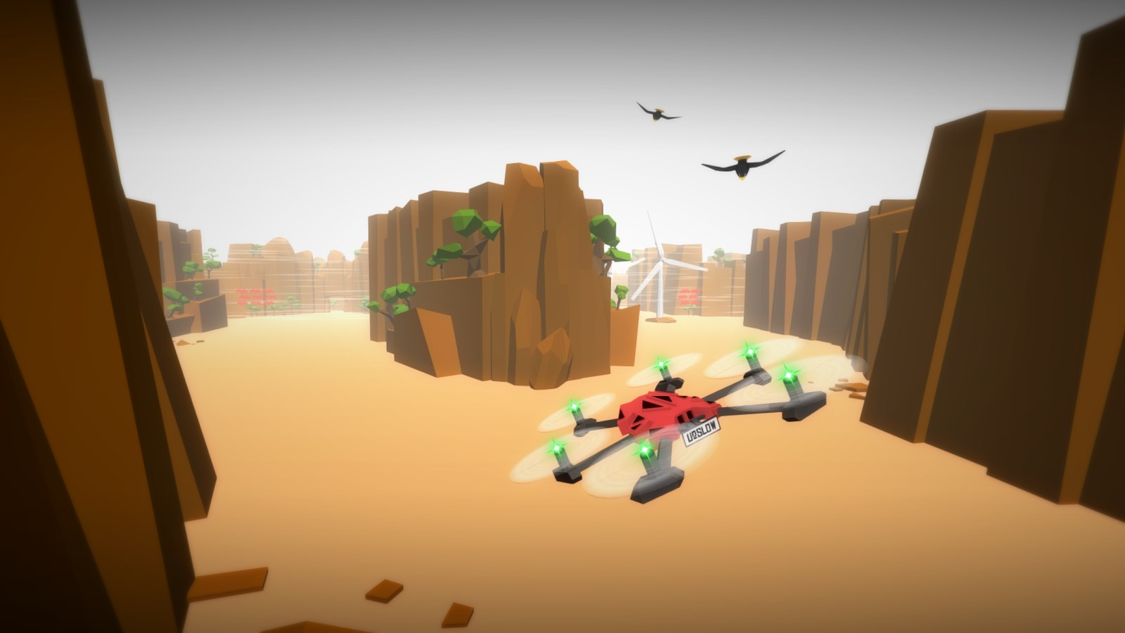 Drone Racer: Canyons - Imagem 1 do software