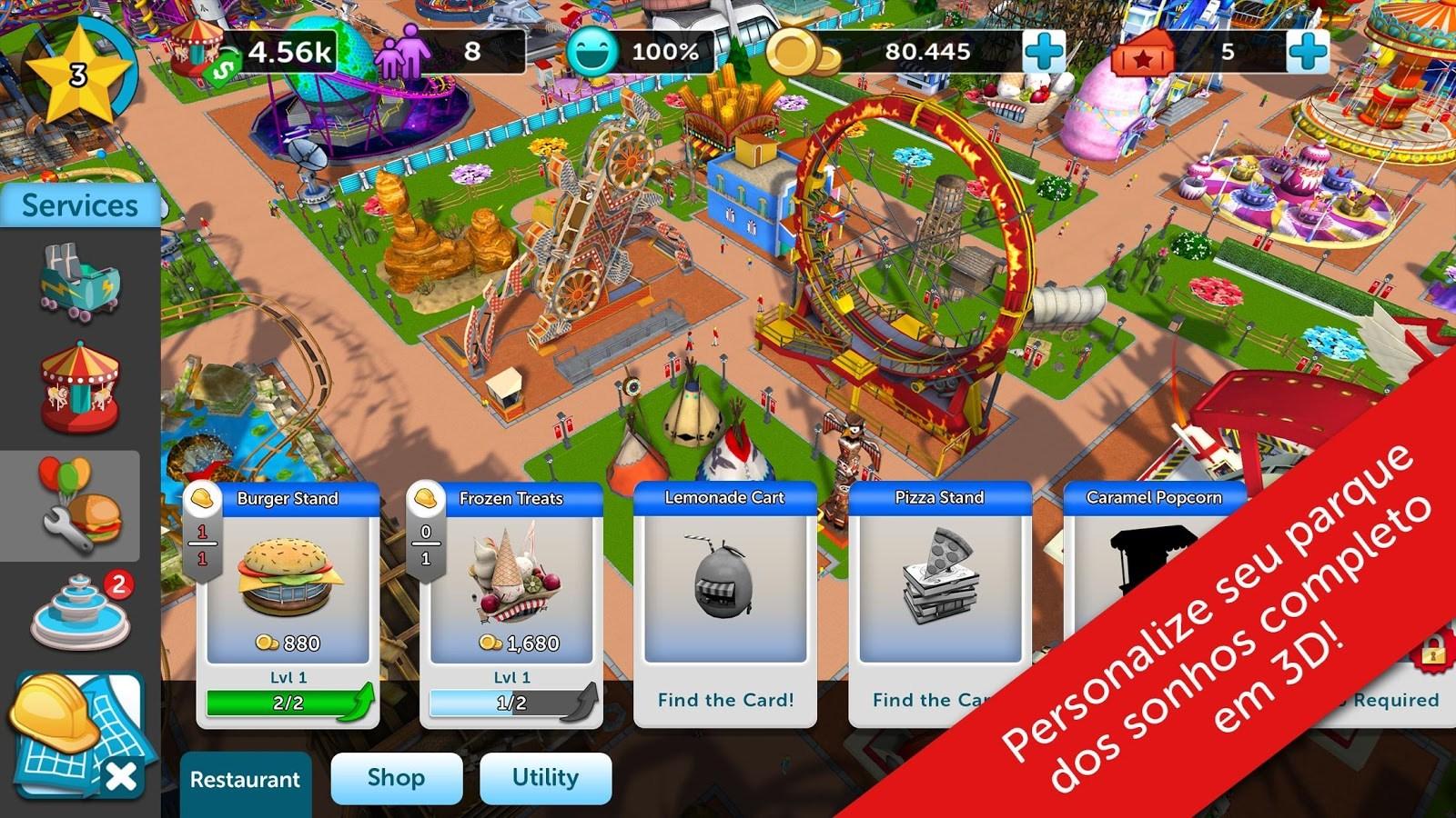 roller coaster tycoon 2 completo gratis baixaki