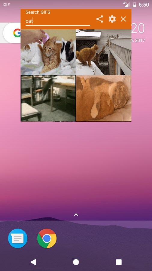 GIF Share Overlay - Imagem 1 do software