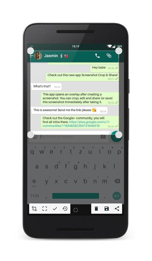 Screenshot Crop & Share - Imagem 1 do software