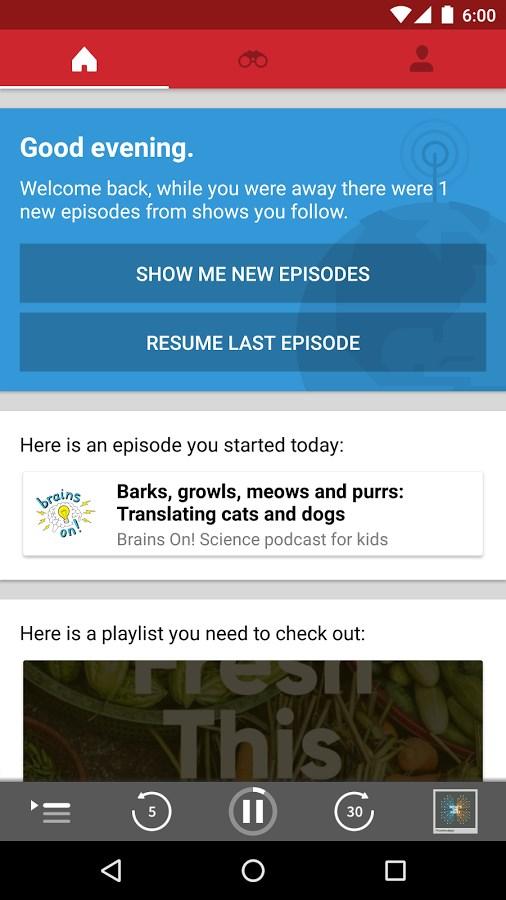 RadioPublic - Free Podcasts - Imagem 1 do software