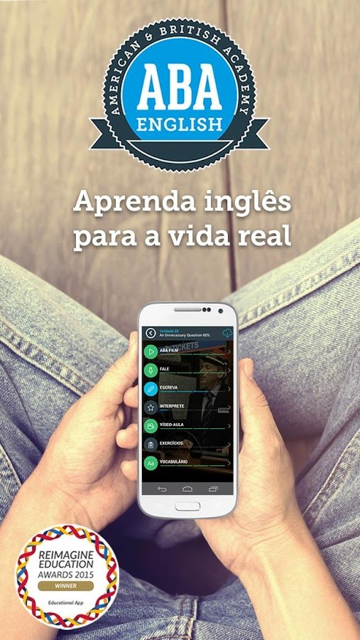 Aprender inglês - ABA English - Imagem 1 do software