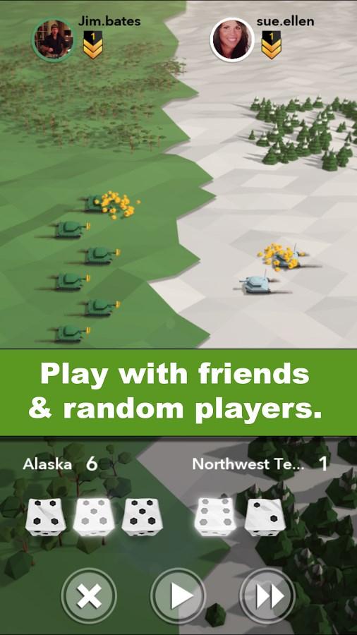 Attack Your Friends! - Risk - Imagem 1 do software