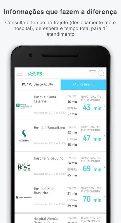 SOSPS – Pronto-Socorro - Imagem 1 do software