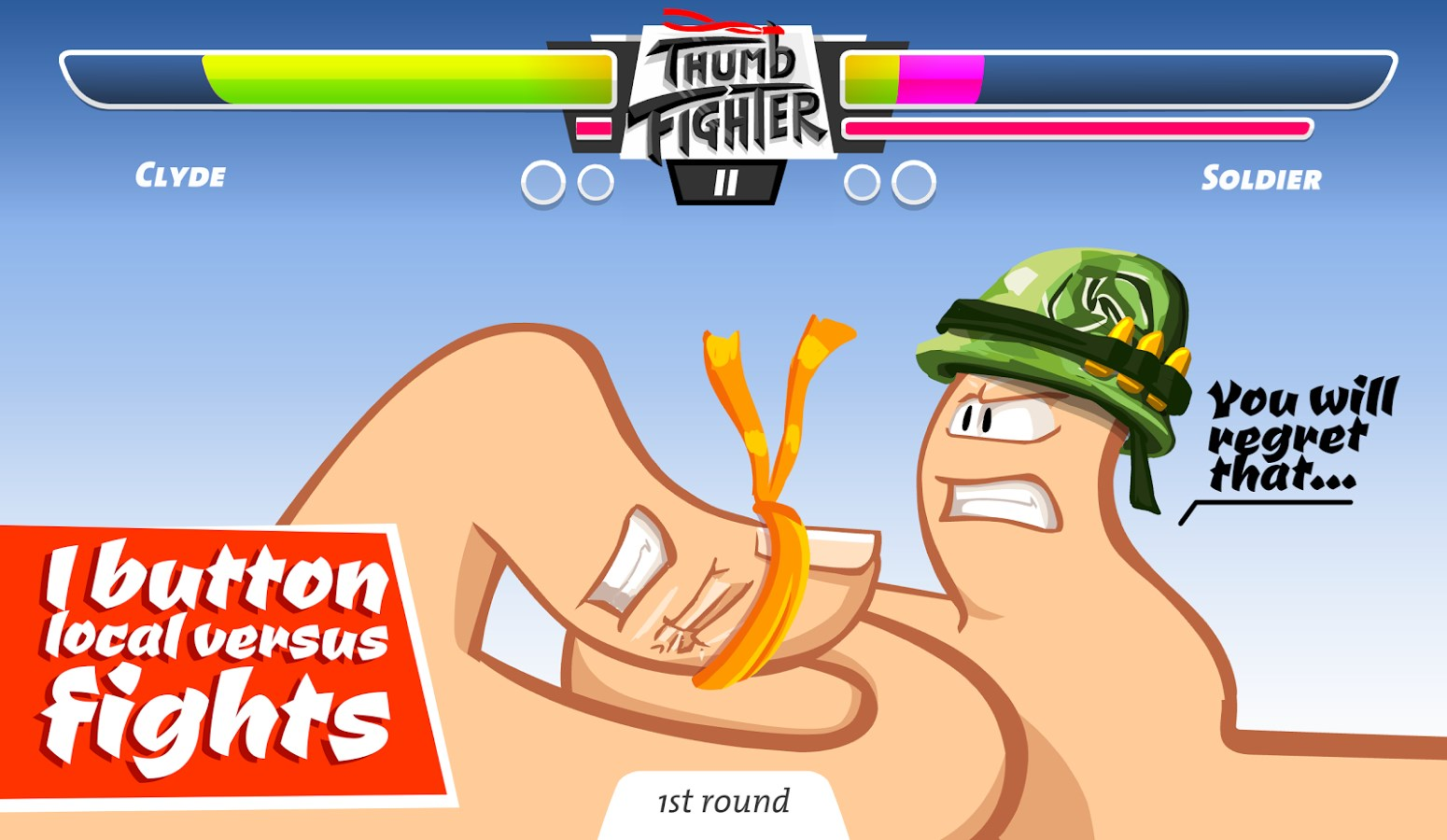 Thumb Fighter - Imagem 1 do software
