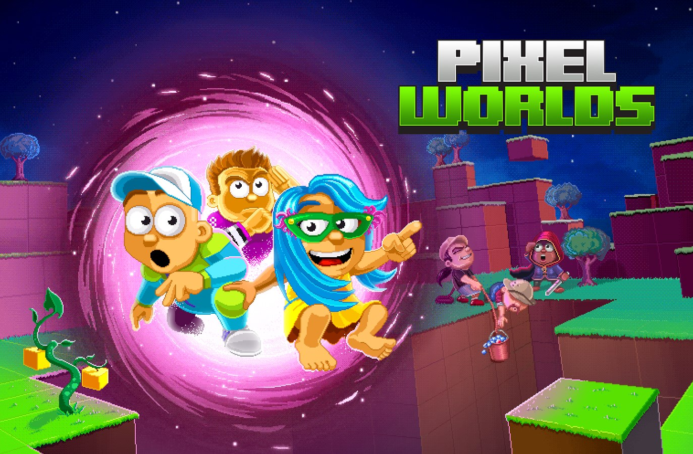 Pixel Worlds - Imagem 1 do software