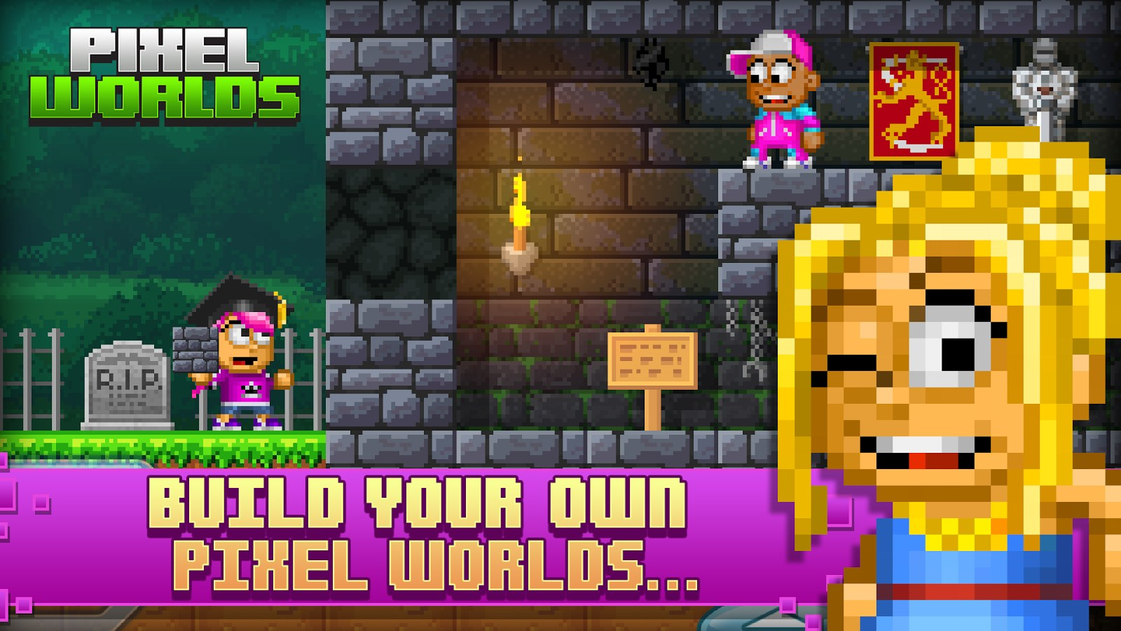 Pixel Worlds - Imagem 2 do software