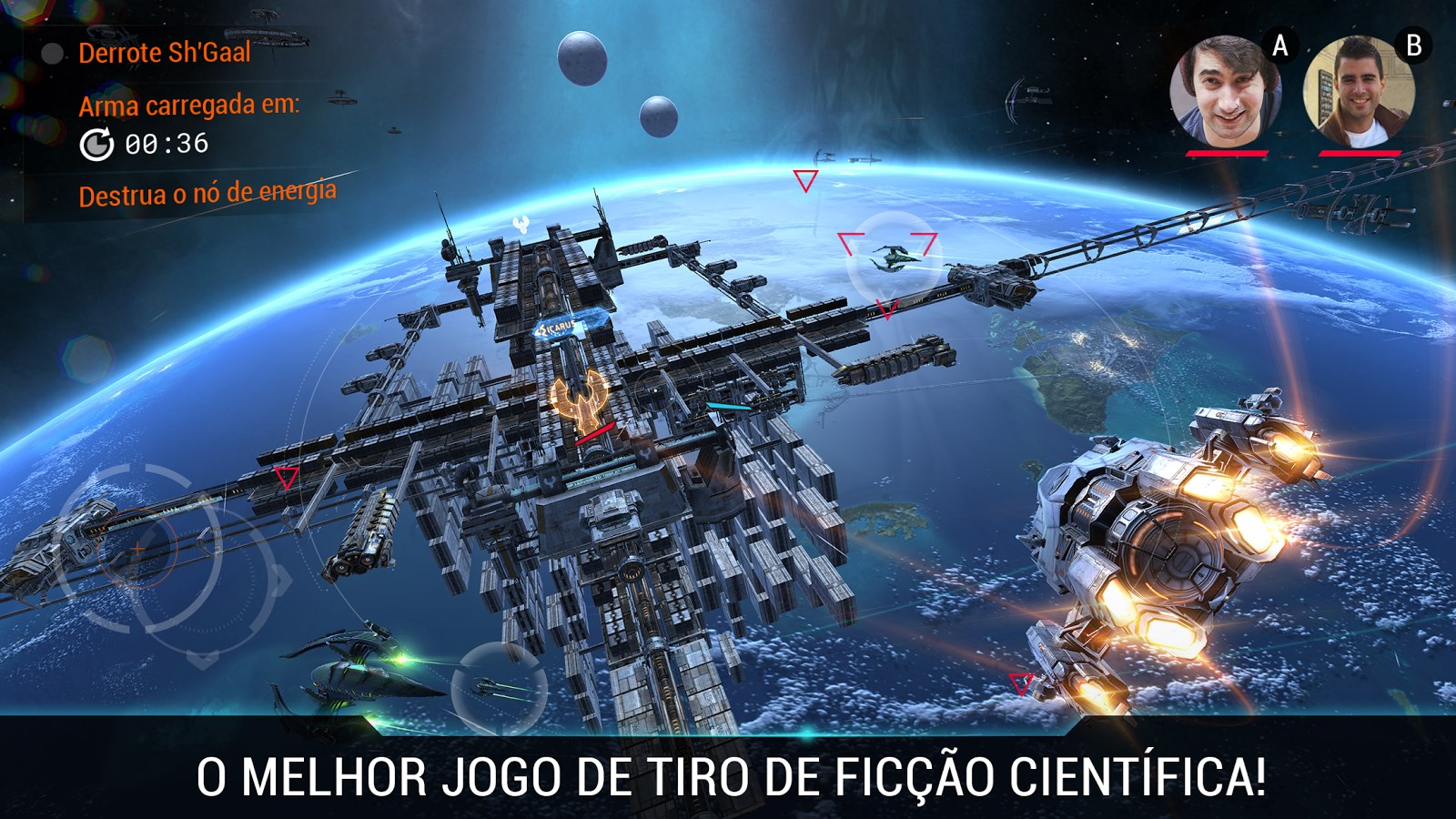 Galaxy on Fire 3: Manticore - Imagem 1 do software
