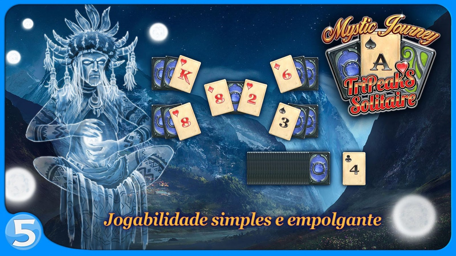 Mystic Journey: Tri Peaks Solitaire - Imagem 1 do software