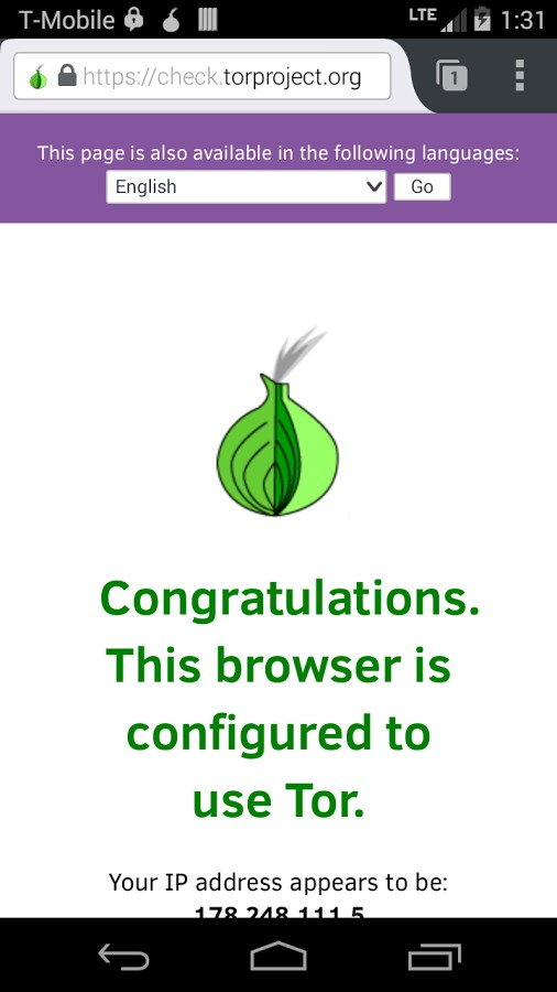 Orfox: Tor Browser for Android - Imagem 1 do software