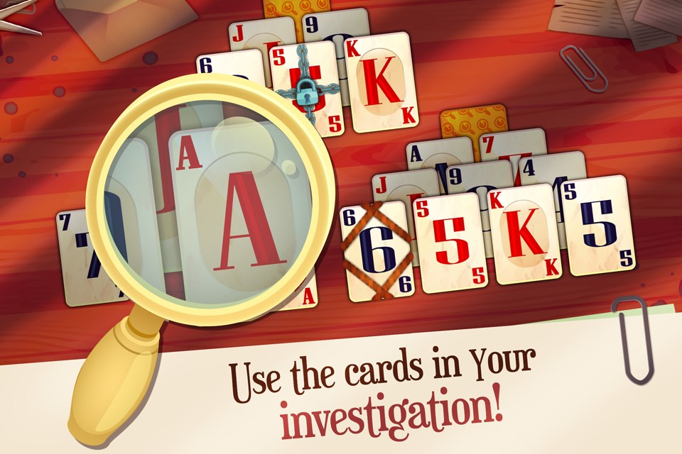 Solitaire Detectives - Imagem 1 do software