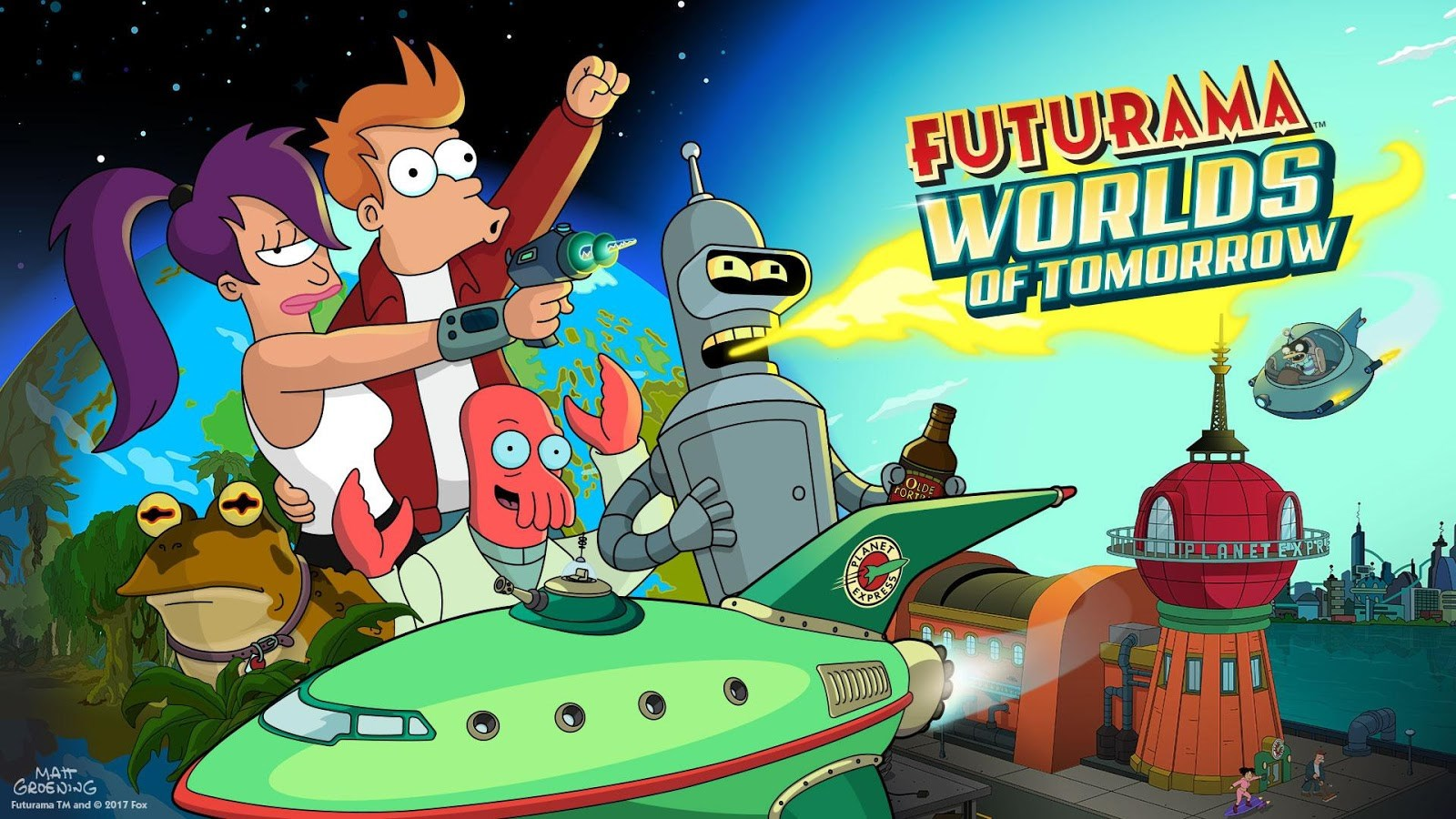 Futurama: Worlds of Tomorrow - Imagem 1 do software