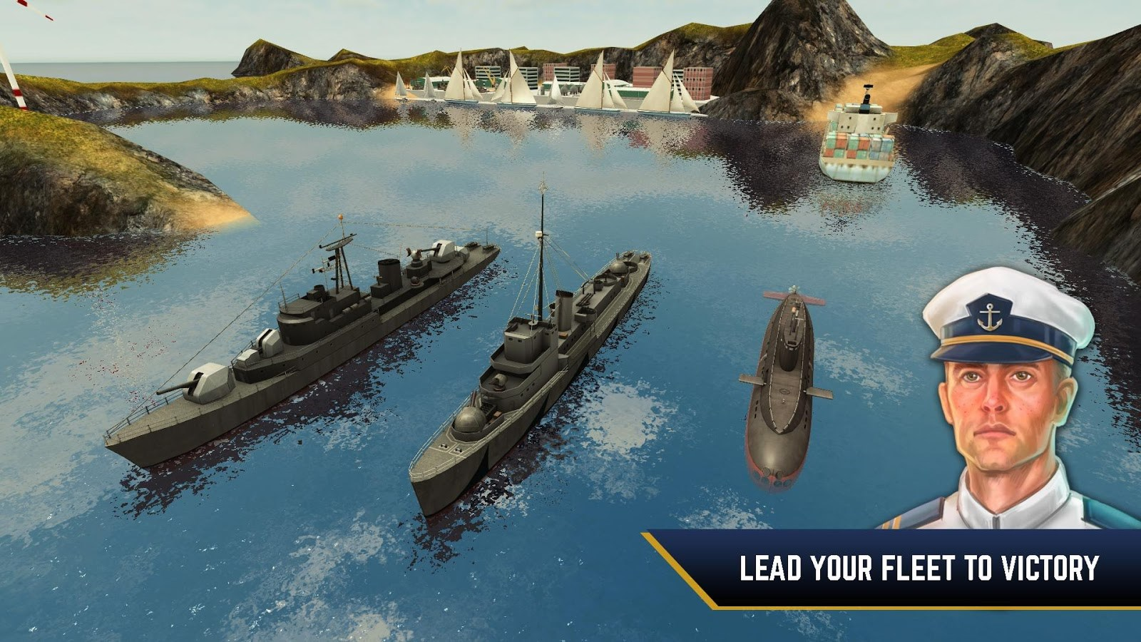 Enemy Waters: Submarine and Warship battles - Imagem 1 do software