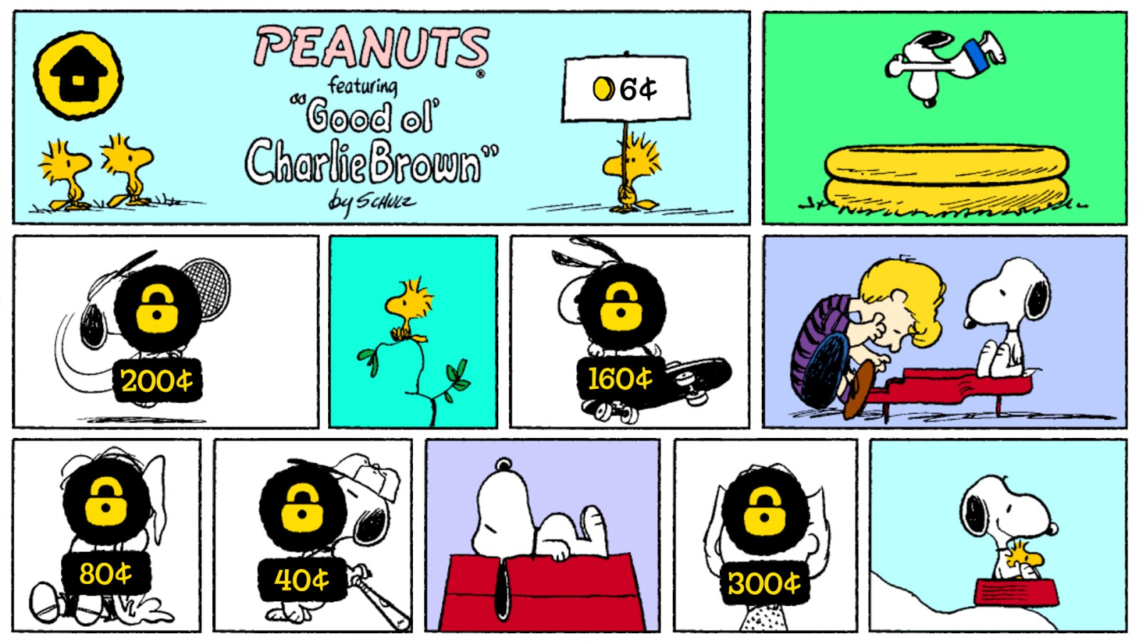 What`s Up, Snoopy? - Peanuts - Imagem 1 do software