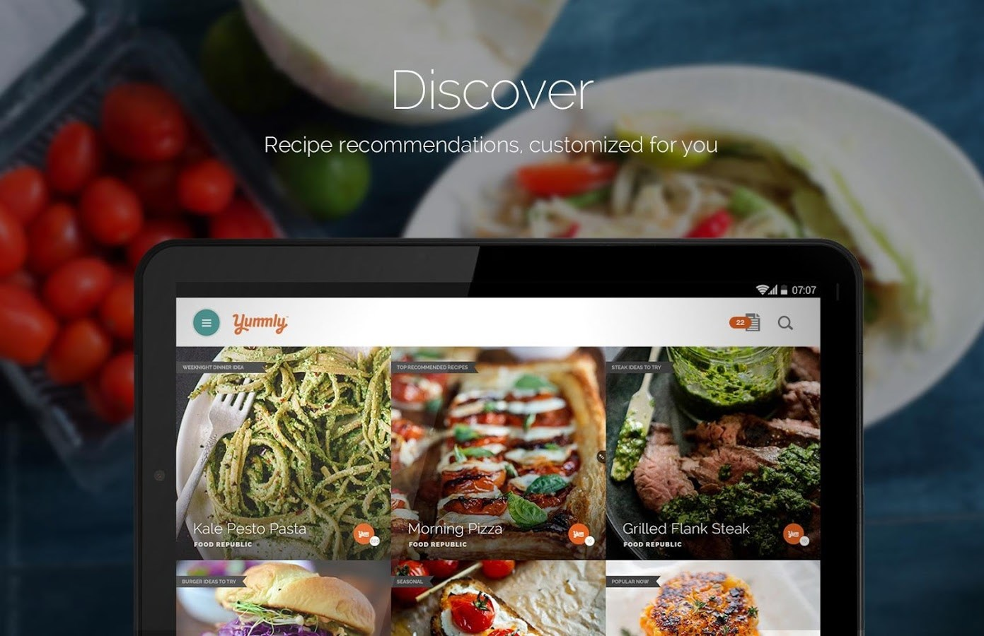 Yummly Recipes & Shopping List - Imagem 1 do software
