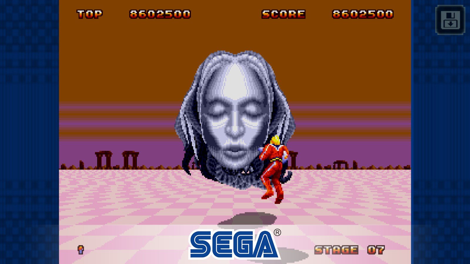 Space Harrier II Classic - Imagem 1 do software