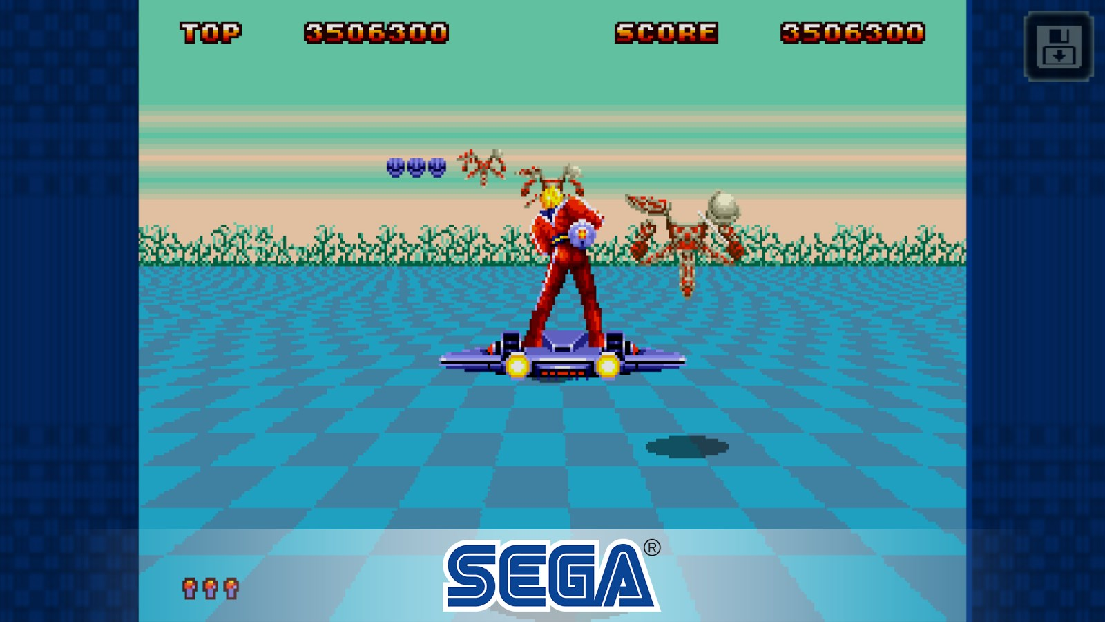 Space Harrier II Classic - Imagem 2 do software