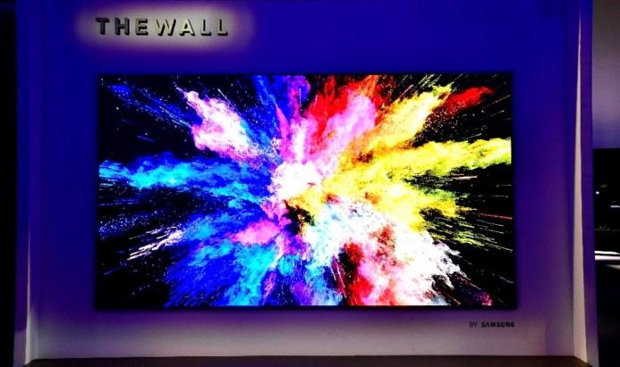 Samsung apresenta The Wall, uma TV modular de 146 polegadas
