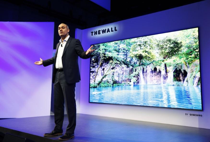 Samsung anuncia TV modular de 146 polegadas
