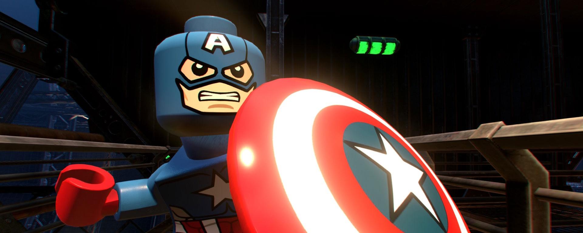 Capitão-América de LEGO